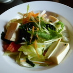14865771 - フェアーセット 豆腐の和風サラダ