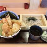 江戸前天丼はま田  - 料理写真:
