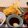 えびのや - 料理写真:金目鯛と春野菜の定食 トッピングで穴子