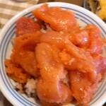 えびのや - 明太子丼(自作)