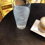 にっぽん漁港食堂 - レモンサワー(飲む前)