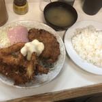 キッチン マミー - 海老メンチセット@900円