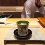 鮨 由う - 茶碗蒸し