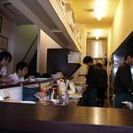 華祥 - 厨房が目の前で料理が作られる過程も楽しめる
