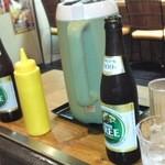和良家 - せっかくなのでノンアルコールビールを