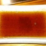 和良家 - 牡蠣につけるポン酢です