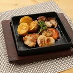 升屋 - ホタテと椎茸のバター焼き