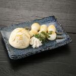 升屋 - バニラアイスと白玉
