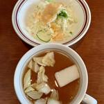 Tabo - 生の白菜が浮かんだヌルいスープ(^^;