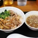 横浜とんとん - ちゃーしゅう丼