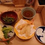 炉端と日本酒 魚丸 - 伝説の海老マヨ・天ぷら