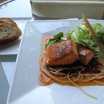 ハナイロカフェ - お魚のランチ