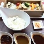 Cafe & Bar えんじ - 3種のスープカレー