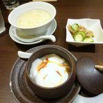 ロンフーダイニング - 杏仁豆腐