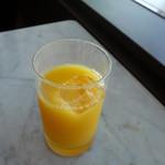 エアポートラウンジ - オレンジジュース