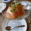 ビストロ ル・ボントン - 料理写真:れんこんのムース 海老のコンソメジュレ添え