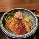 148701088 - 漁師めし(海鮮づけ丼)