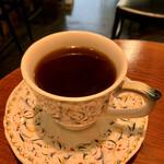 カンダコーヒー - レモンティーのような爽やかな飲み口と 舌に絡み付く旨みと渋みが良きお味♪(^^