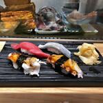 寿司の美登利総本店 - いつものお好み1軍たち