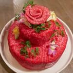うしごろバンビーナ - ☆肉ケーキ可愛い(^u^)☆