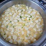 シンガポール・シーフード・リパブリック - 海老と豆腐の卵炒め