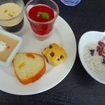 シンガポール・シーフード・リパブリック - 取り皿に取った料理