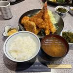 魚佐 - ミックスフライ定食