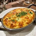 炭焼き&WINE 利三郎 - ブロッコリーとシラスのオムレツ
