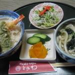 とみわ - 料理写真:天丼&ミニうどんセット