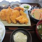 ぐしけんそば - 白身魚定食