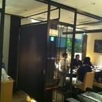 和洋旬彩 月陽 HIRAKATA - 雰囲気がいい感じの店内