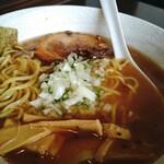 醤道バージョン東金 - 料理写真:道らーめん モチモチ麺を選択