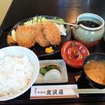 北沢屋 - 料理写真:ヒレカツ定食