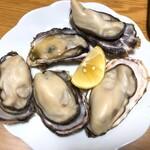 海の駅しおじ - お家でも焼き牡蠣