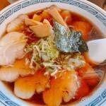 一冨士らーめん - 料理写真:セットのチャーシュー麺