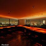 バッカナール - Bacchanale 店内からの夜景