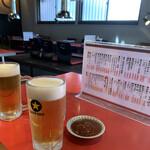 宮よし - 生ビール