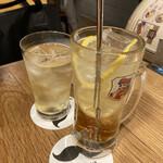 渋谷ハイボールバー - * アップルワイン ハイボール 649円 * フロム・ザ・バレル ハイボール 858円