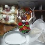 柏水堂 - 色とりどりのケーキ