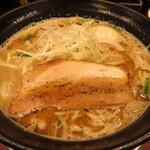 じゃぐら - 料理写真:豚骨みそラーメン 830円 味付け玉子 100円