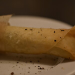ペタンク - コーンのグリーンカレー春巻き