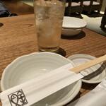 恵比寿魚金 - 角ハイボール 580円
