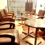 スティックスイーツファクトリー - カフェスペース