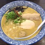 鶏革命 - 濃厚塩鶏そば700円