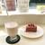 フランス菓子16区 - 「桜ミルク」と「コロンビエ」