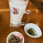 そば処たじま - 蕎麦湯割り焼酎