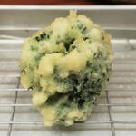 天ぷらすずき - ブロッコリー
