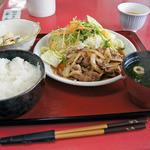 きらら食堂 - 料理写真:この日の日替わり定食600円