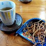 美原 - 蕎麦茶と揚げ蕎麦
