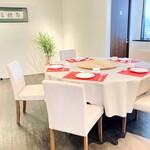 イロハヤラーメン にしむら亭 - 2階個室6席(広東料理コース予約制)